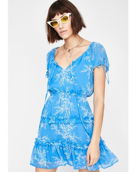 Miss Junebug Floral Dress