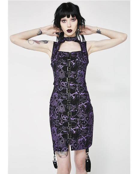 Miss Morbid Buckle Up Dress