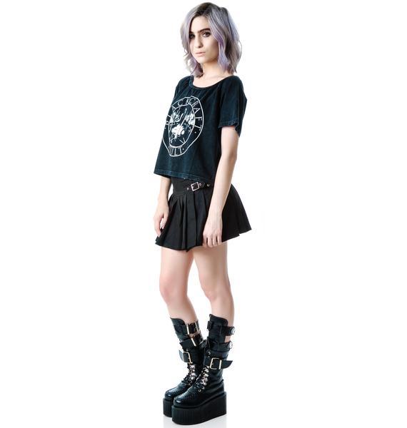 Blackcraft Witchcraft Crop Top