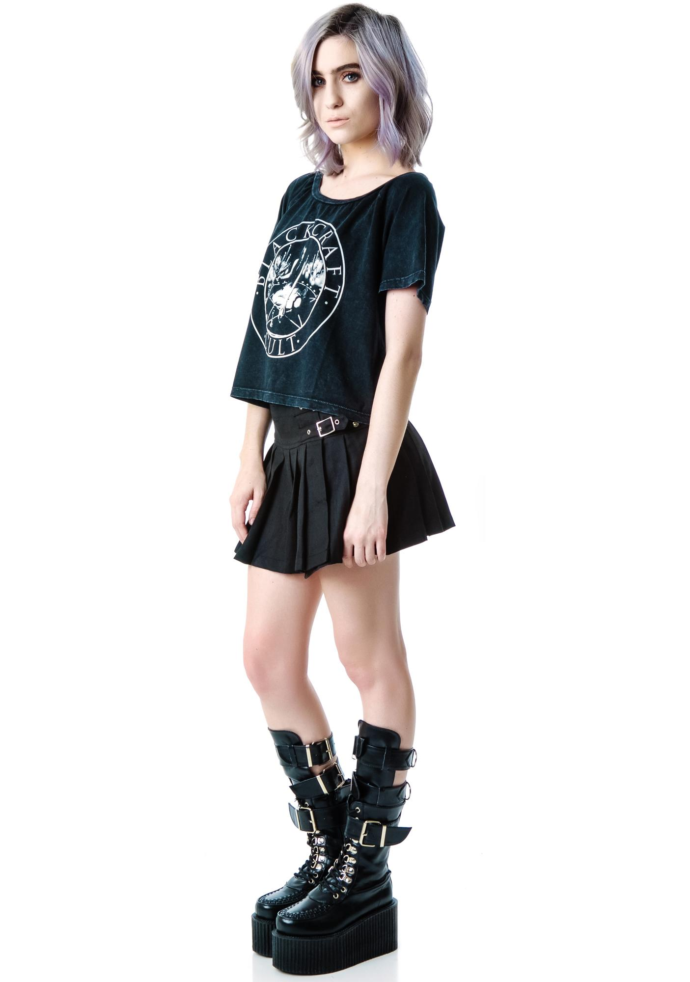 Blackcraft Witchcraft Crop Top