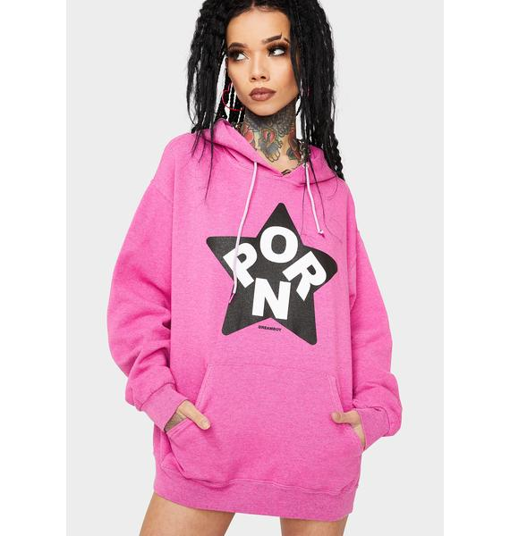 Dreamboy Pink Porn Star Pullover Hoodie