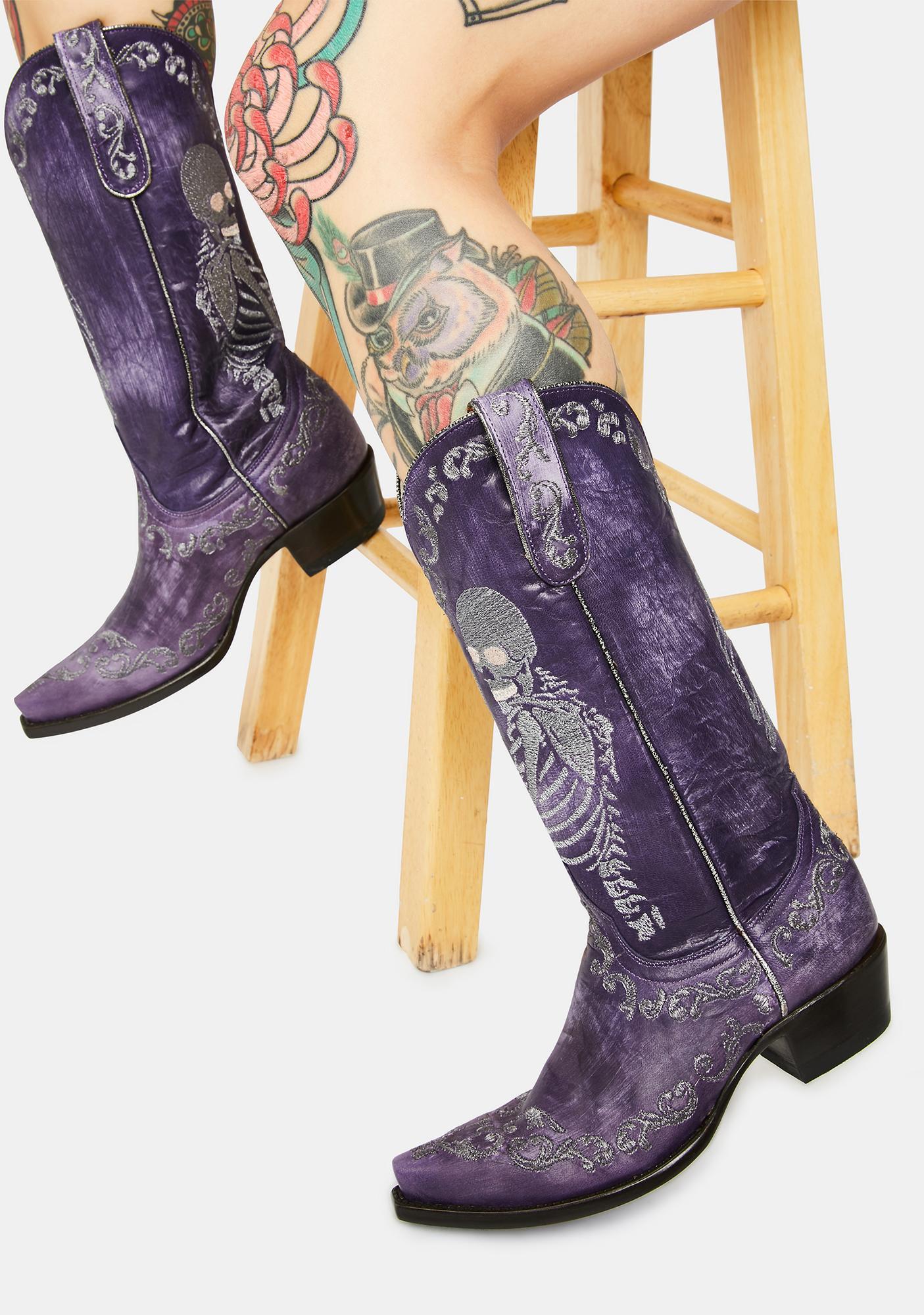OLD GRINGO Violet Selfie Cowboy Boots