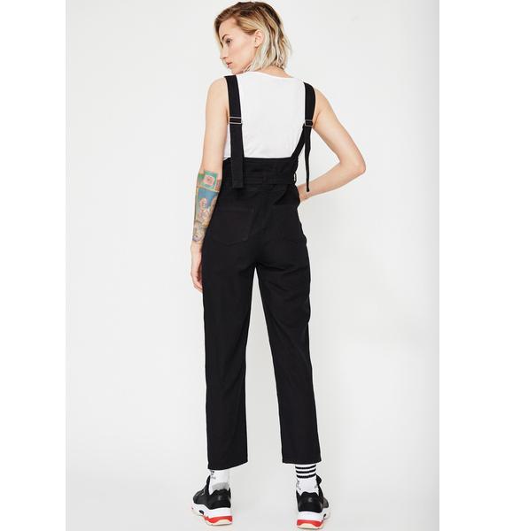 Luna Serve Looks Suspender Jeans