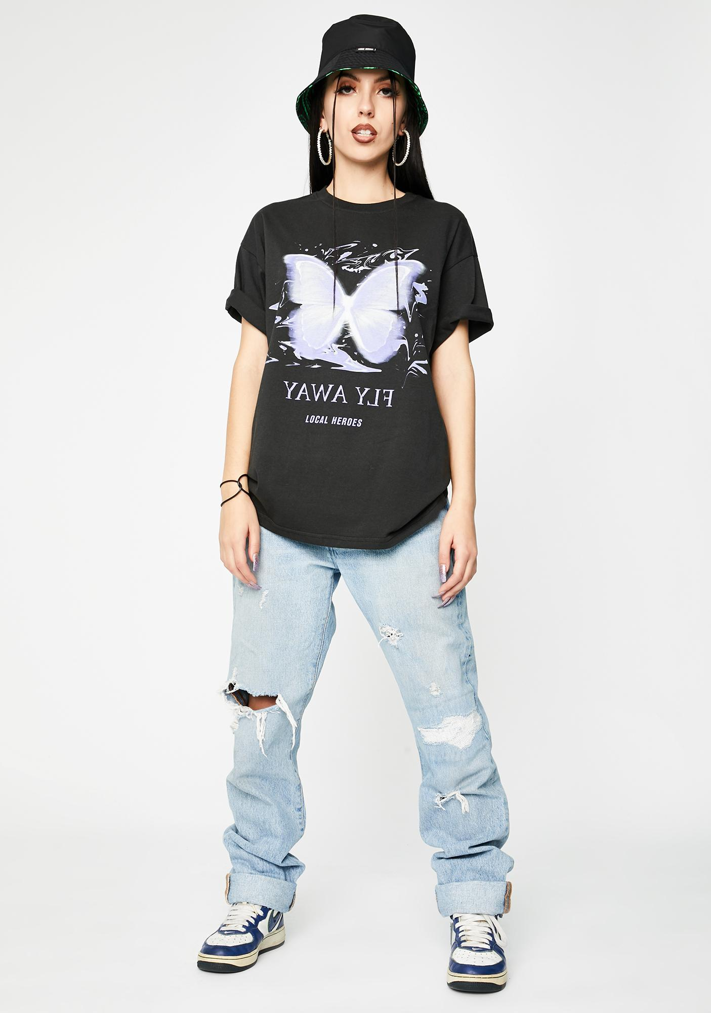 Local Heroes Fly Away Graphic Tee