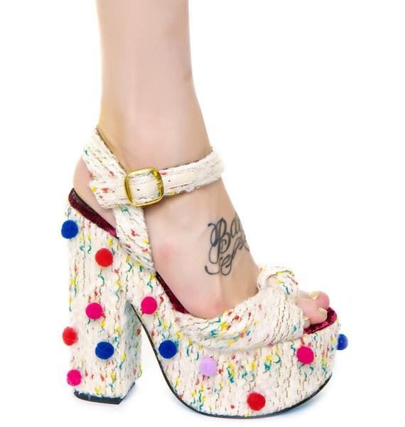 Irregular Choice Tic Tac Toe Heels
