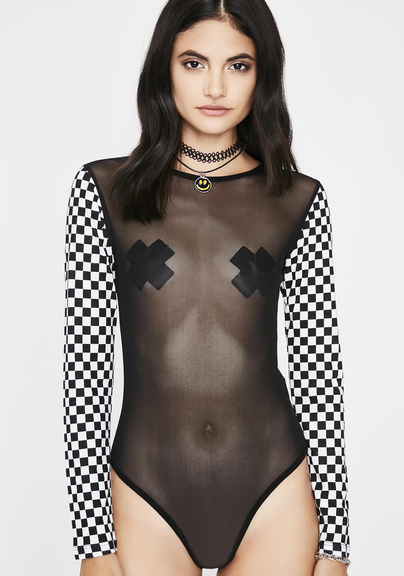 Souped Up Mesh Bodysuit