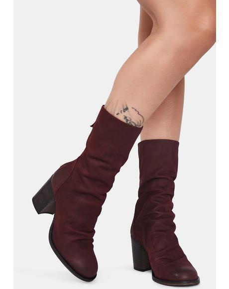 Elle Block Heel Boots