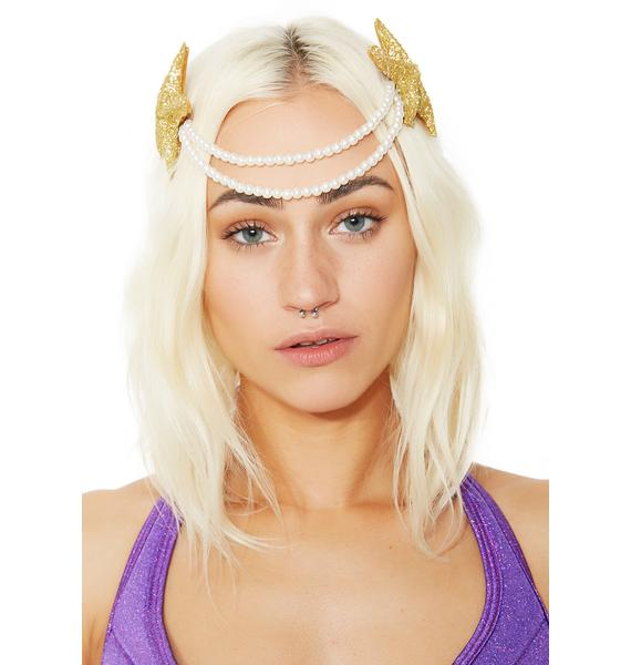 The World Is Ur Oyster Headpiece