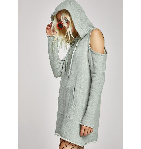 Perfect Crime Hoodie Dress