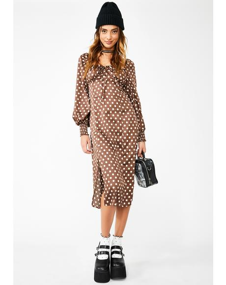 Friend Or Fiend Midi Dress