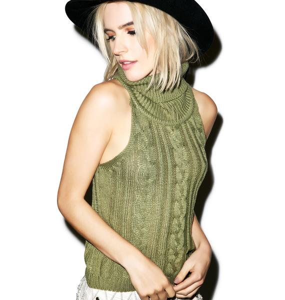 Sophie Cable Knit Top