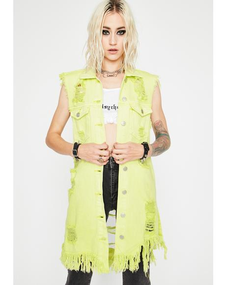 Atomic Looking For Trouble Denim Vest