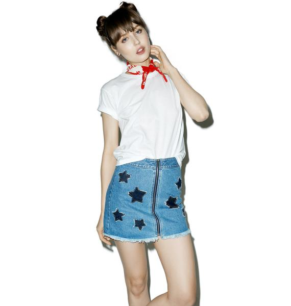 Badlands Denim Skirt