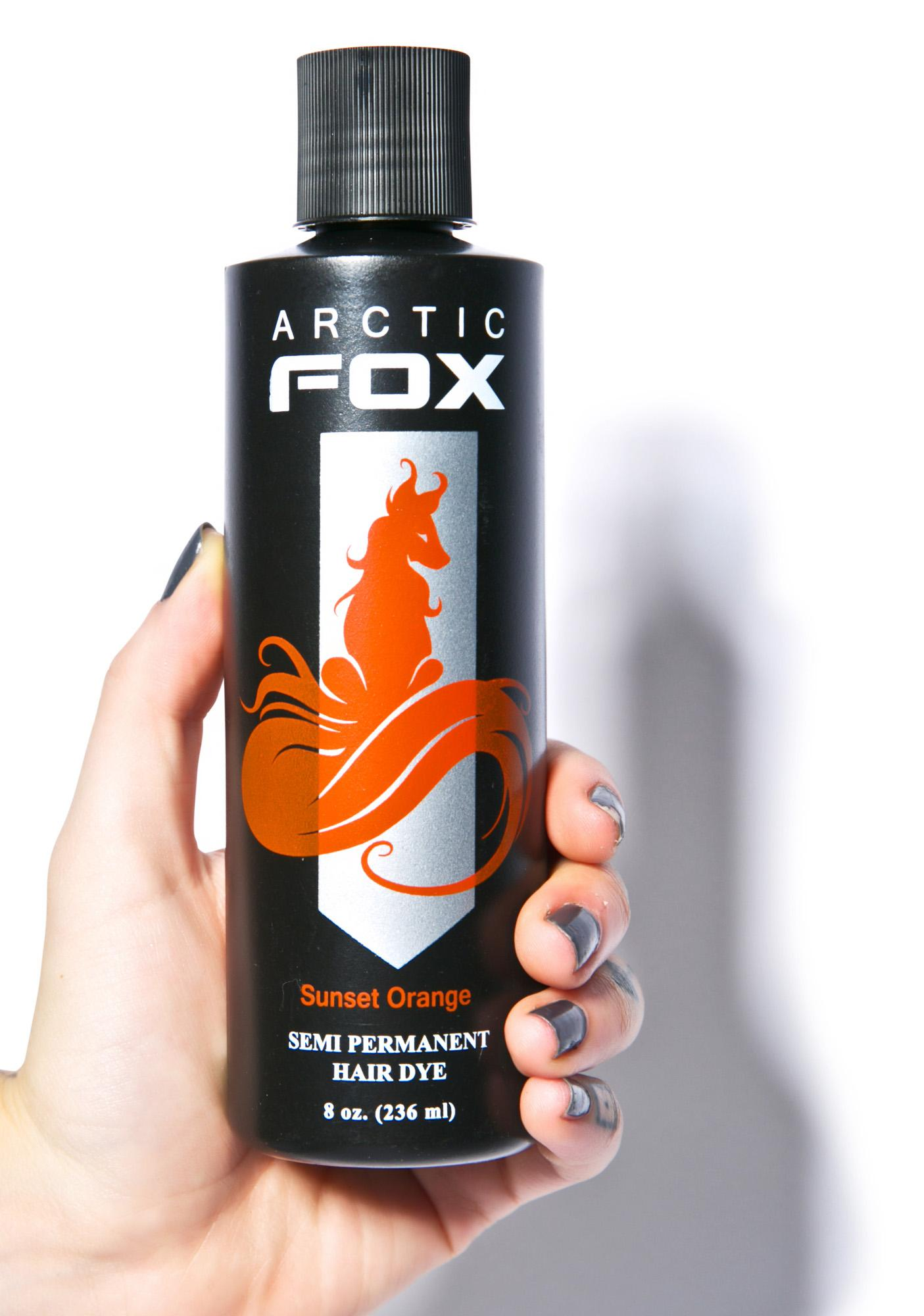 Arctic Fox Sunset Orange Hair Dye