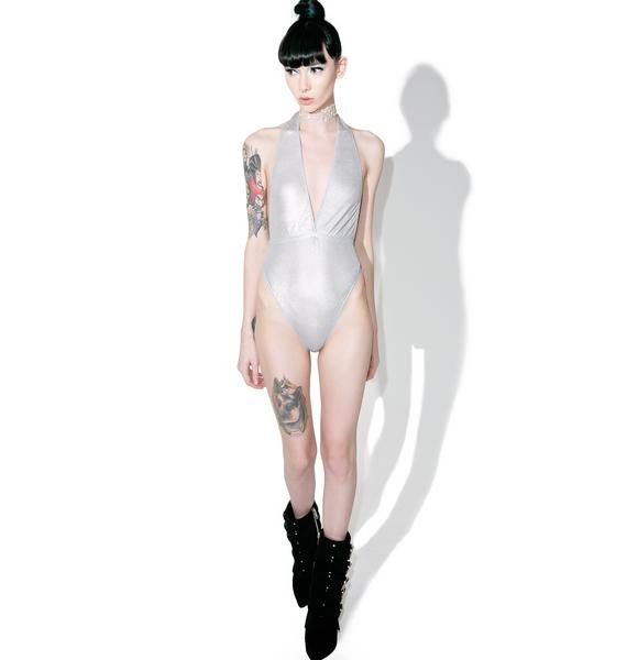 Current Mood Helios Halter Bodysuit