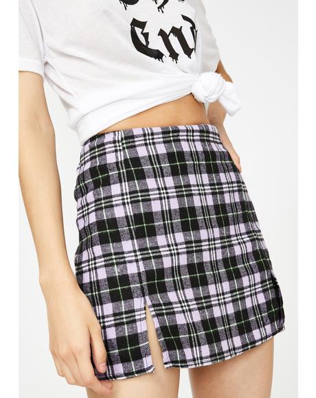Plaid Zaid Skirt