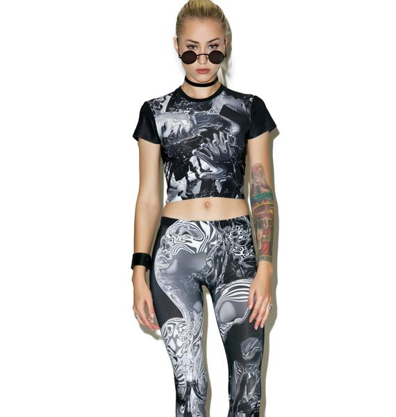 Long Clothing X Pussykrew Crop Top