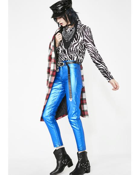 Bombshell Metal Jeans