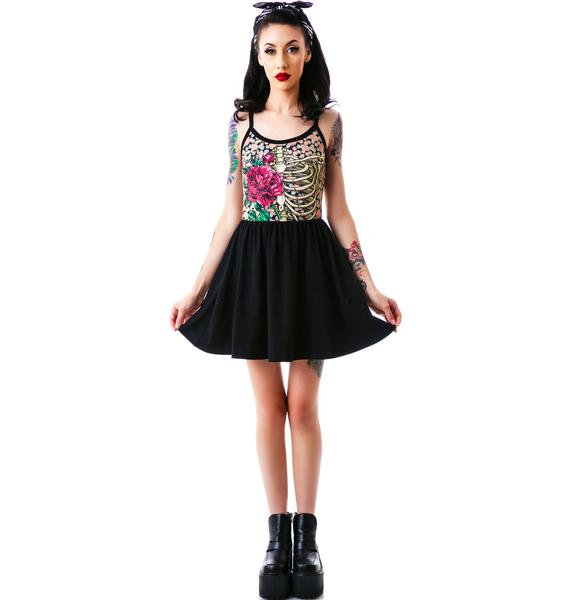 Rose Cage Ballerina Dress