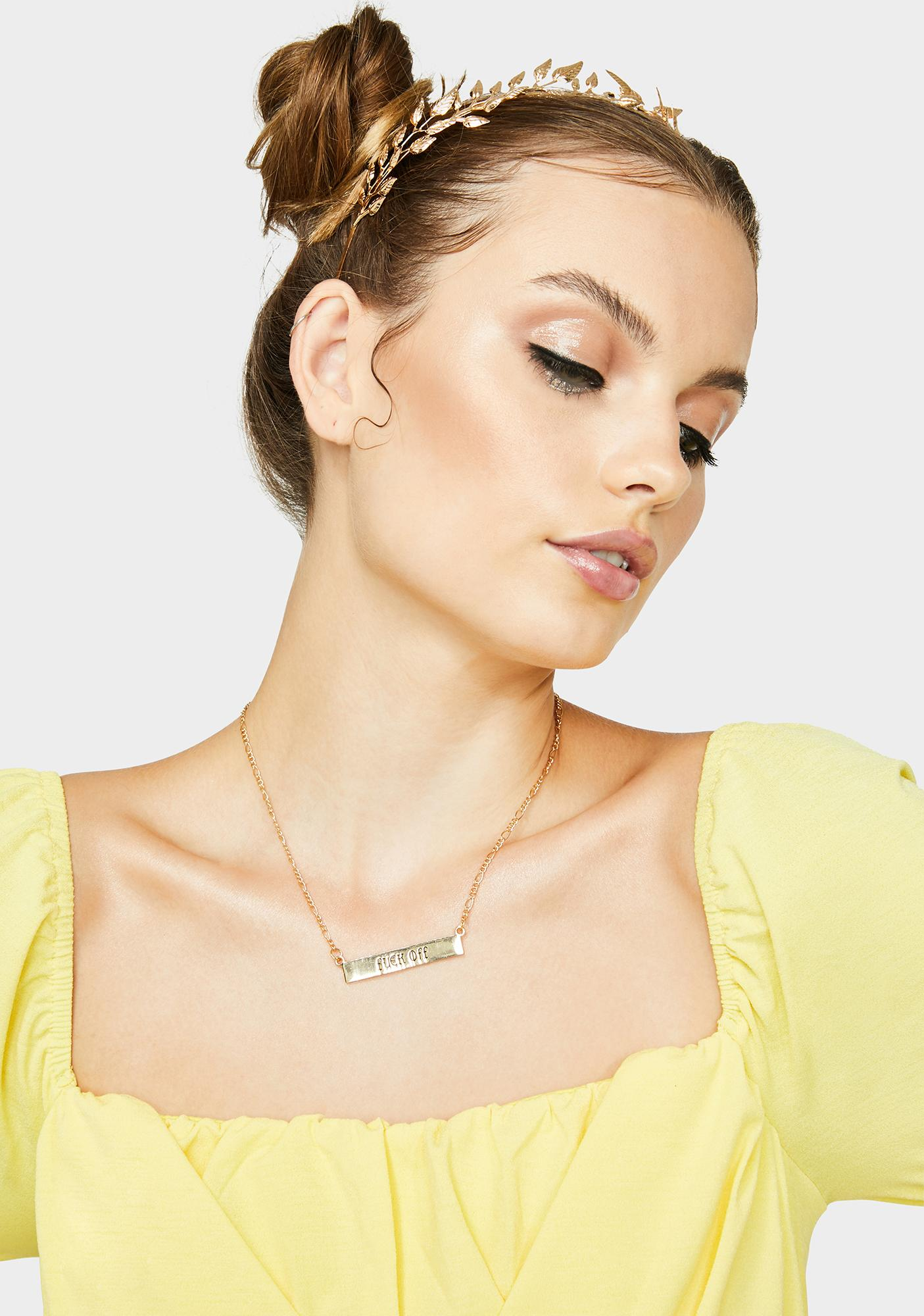 In A Mood Chain Necklace