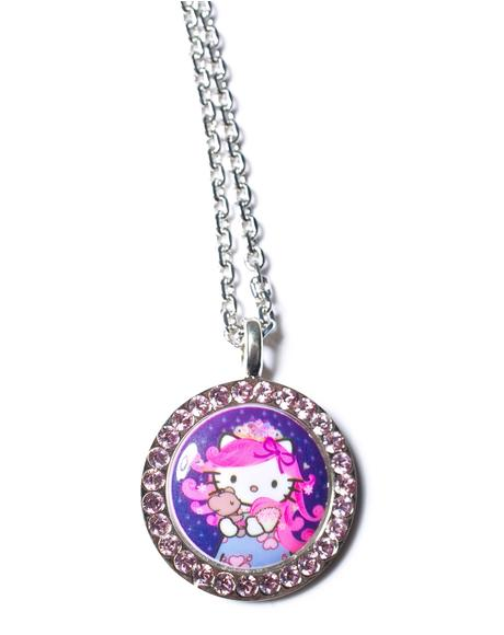 Crystal Persuasion Pendant Necklace
