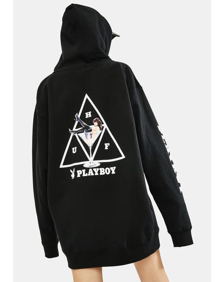 x Playboy Bunny Triple Triangle Hoodie