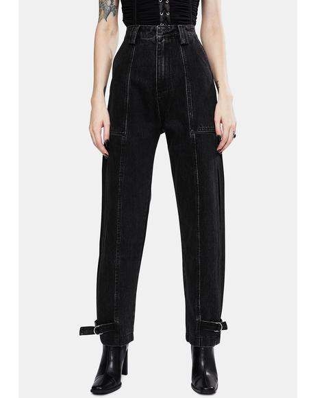 Black Jolie High Waist Jeans