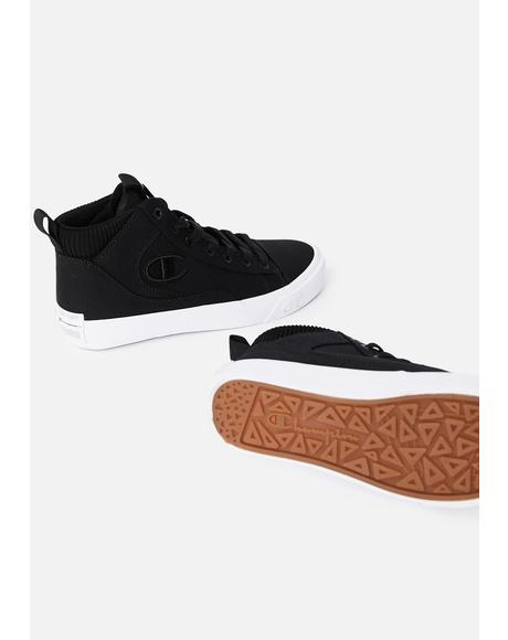 Black Gem Hi Sneakers