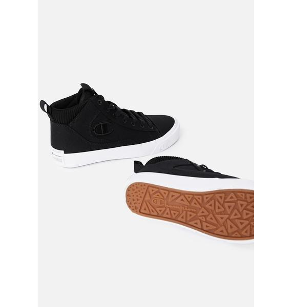 Champion Black Gem Hi Sneakers