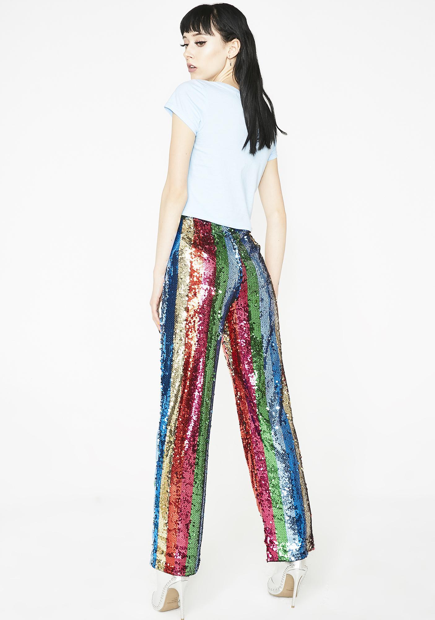 Come Get Groovy Sequin Pants