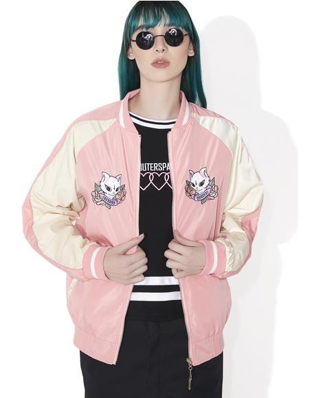 Cat Sukajan Jacket