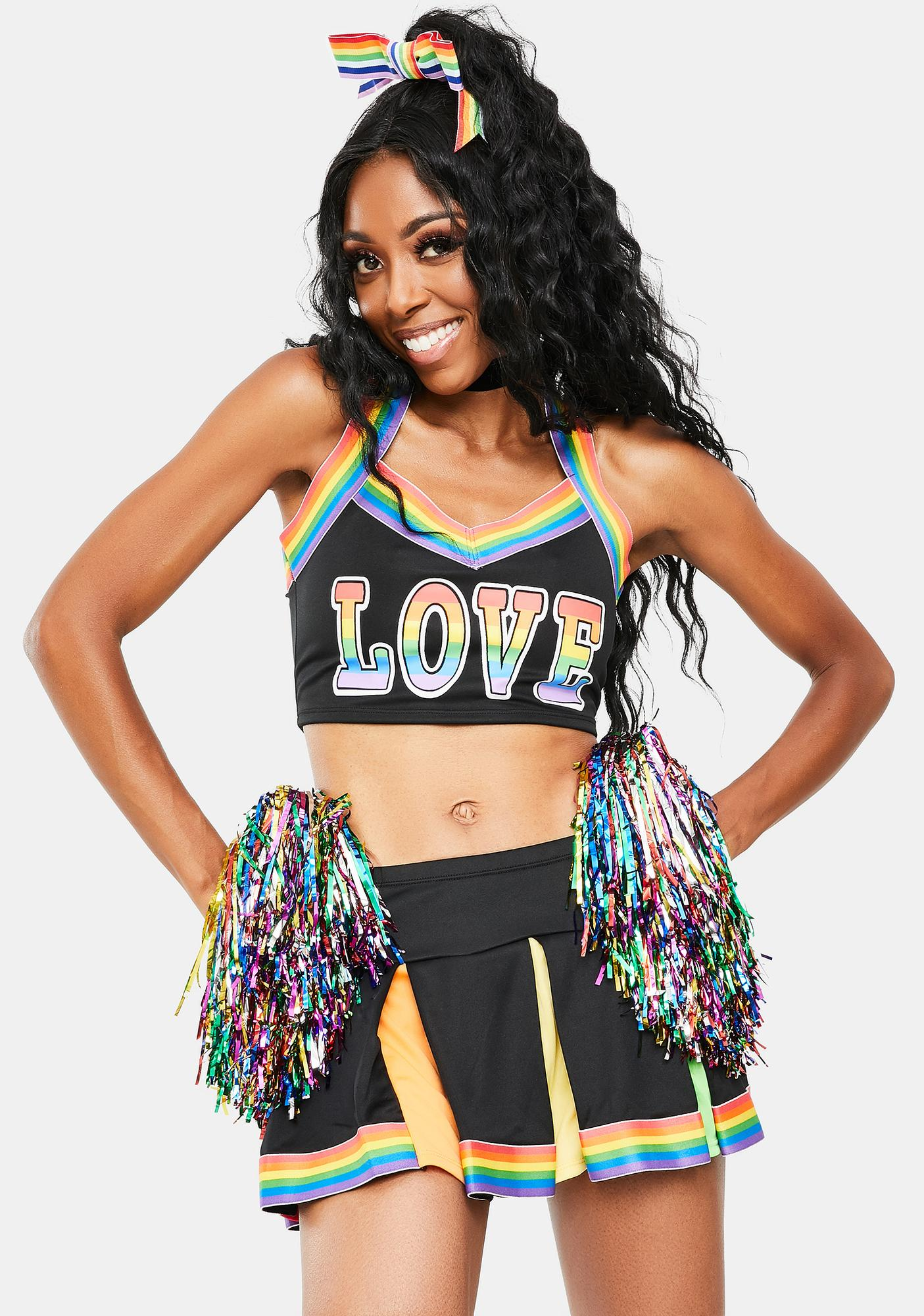 Dolls Kill Love Wins Cheerleader Costume
