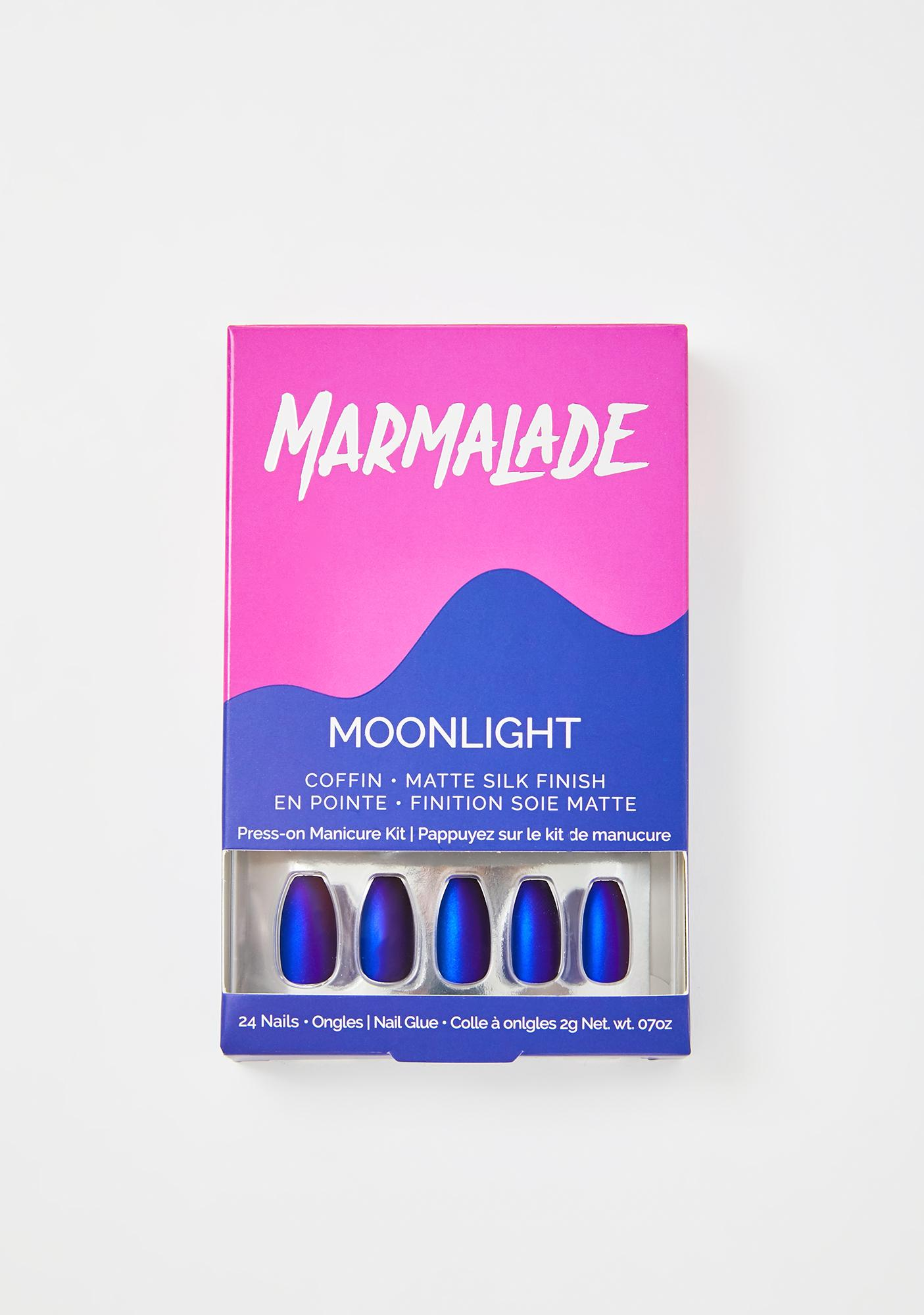 Marmalade Moonlight Press On Nails