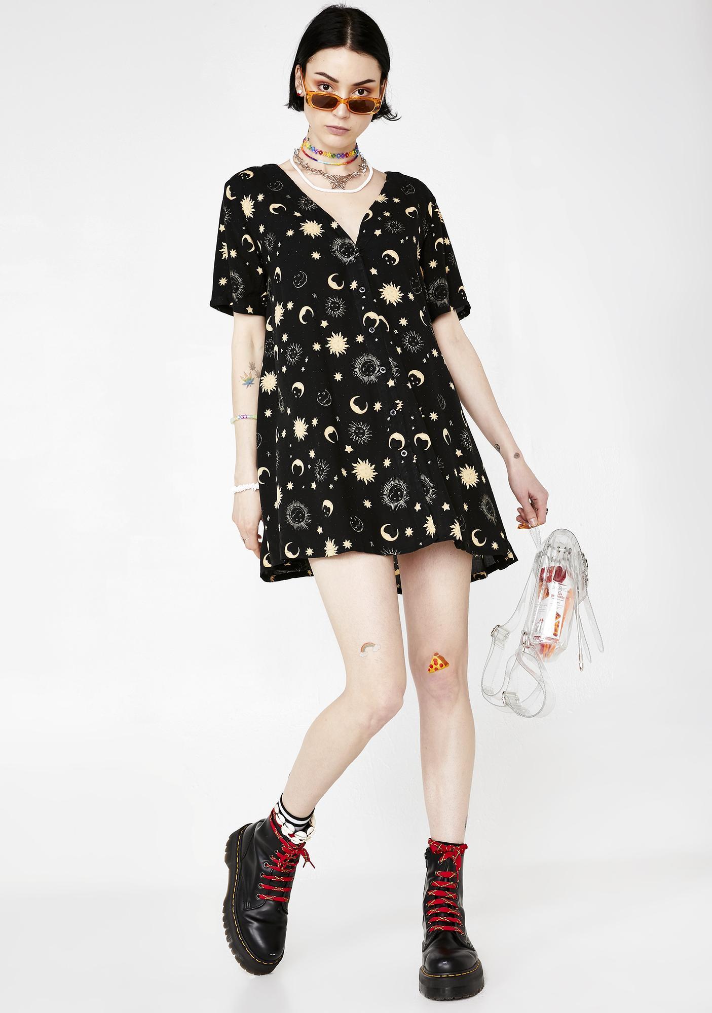 Motel Cosmic Crosena Dress