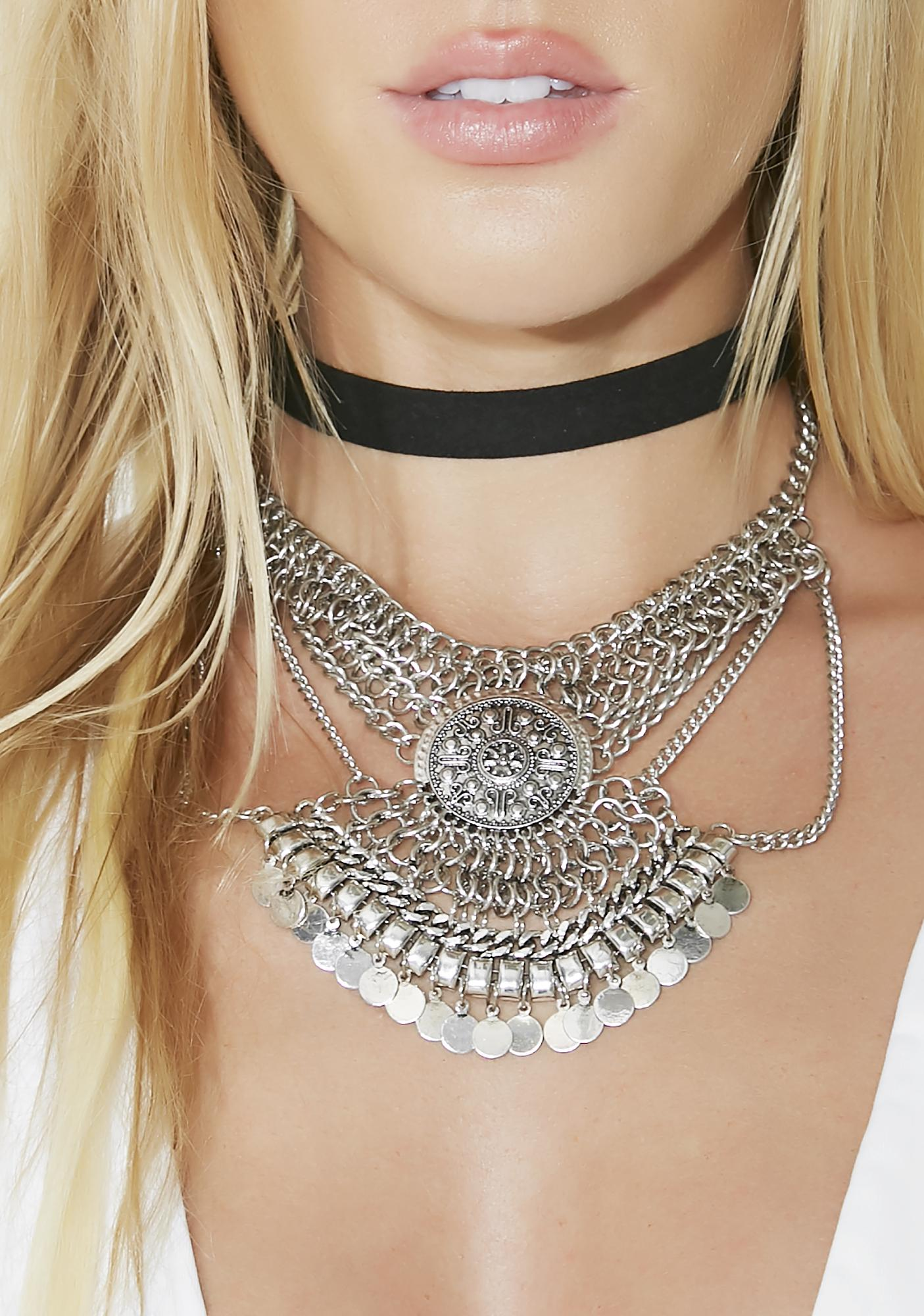 Bold N' Fearless Statement Necklace Set