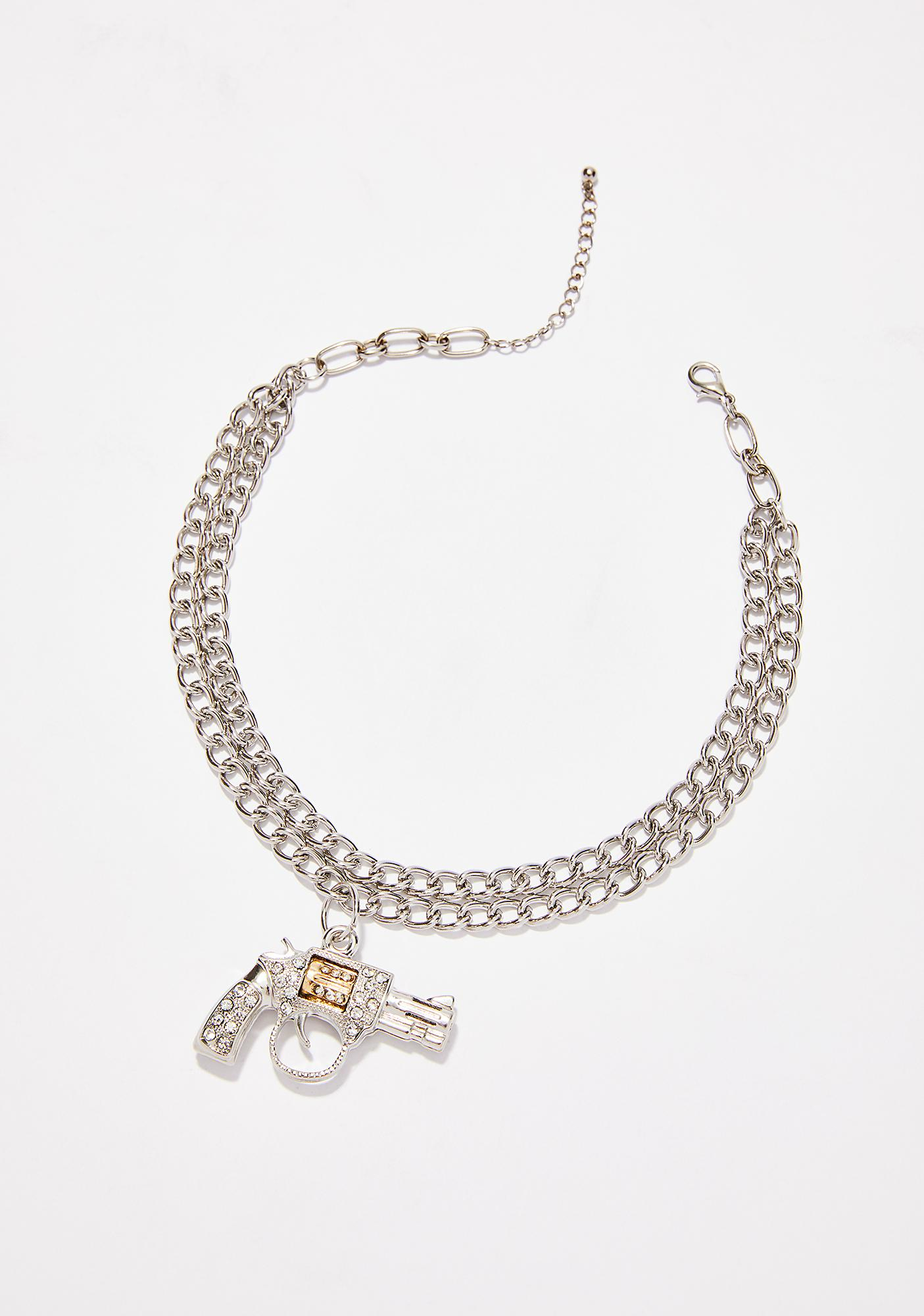Take Aim Chain Choker