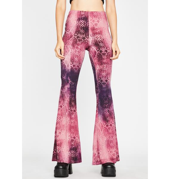 Reptile Dysfunction Flare Pants