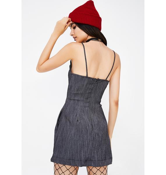 Shape Up Denim Dress