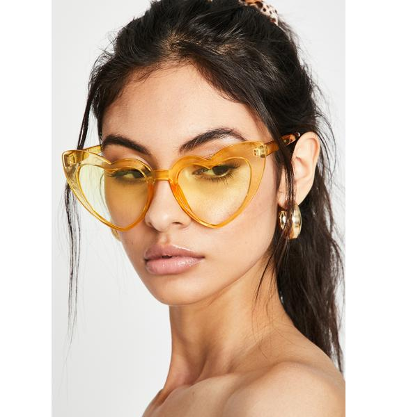 Lemon Un-Break Ur Heart Sunglasses