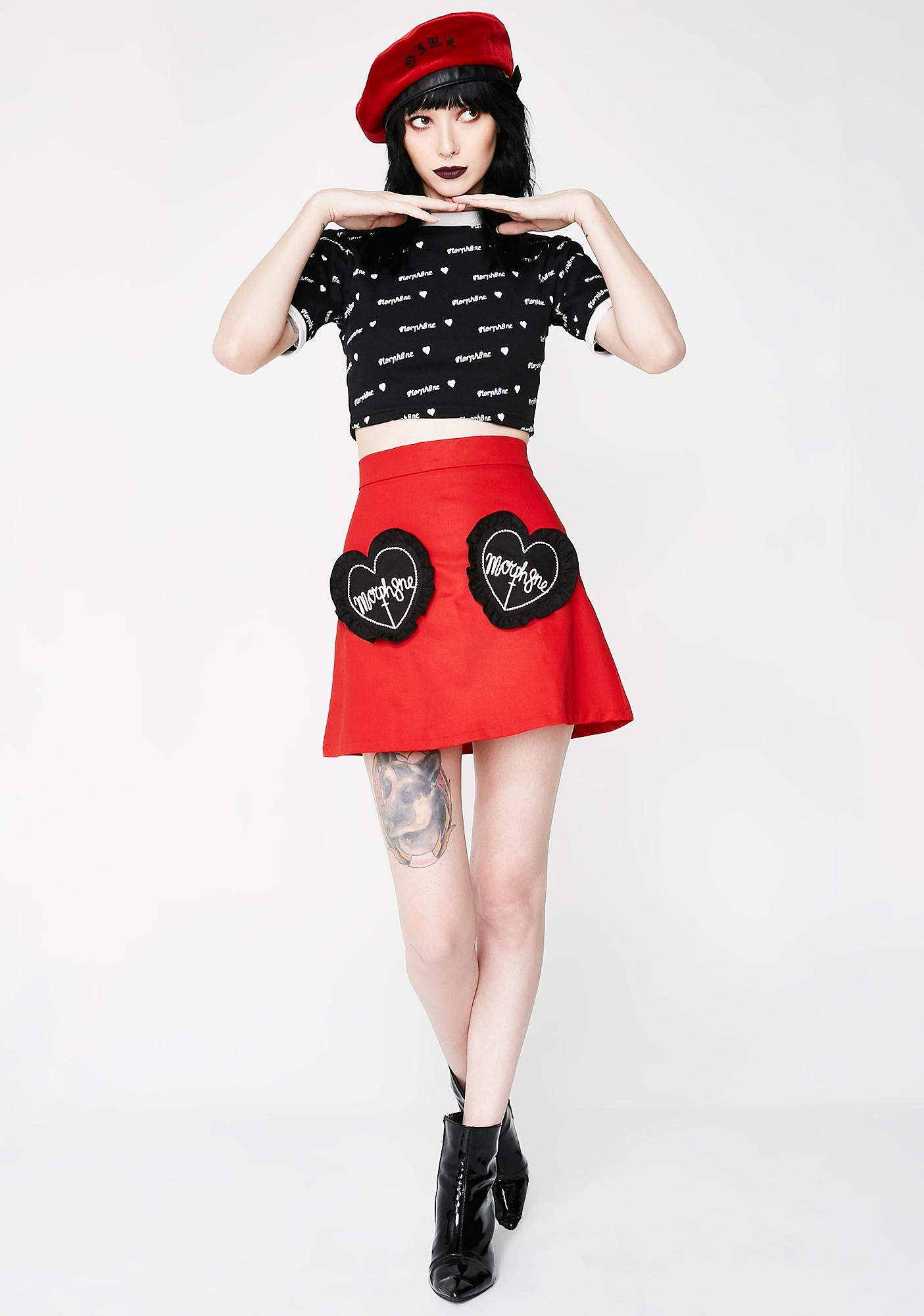 Morph8ne Precious Blood Skirt