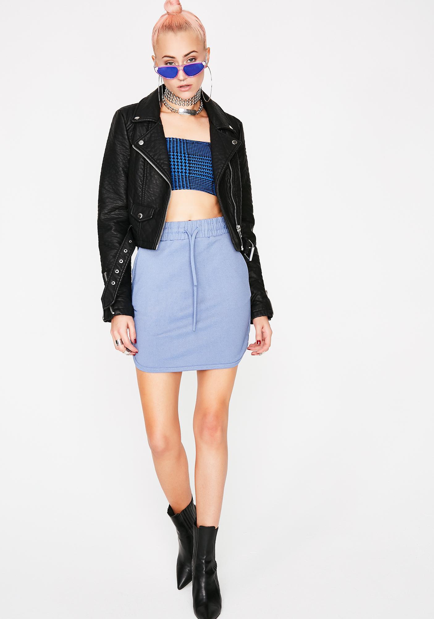 Don't Sweat It Mini Skirt