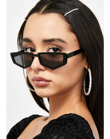 Stealing Looks Tiny Sunglasses