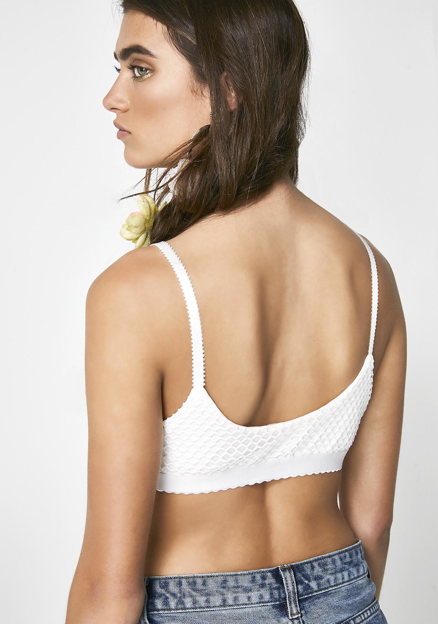 Iced Wild Heart Triangle Bra