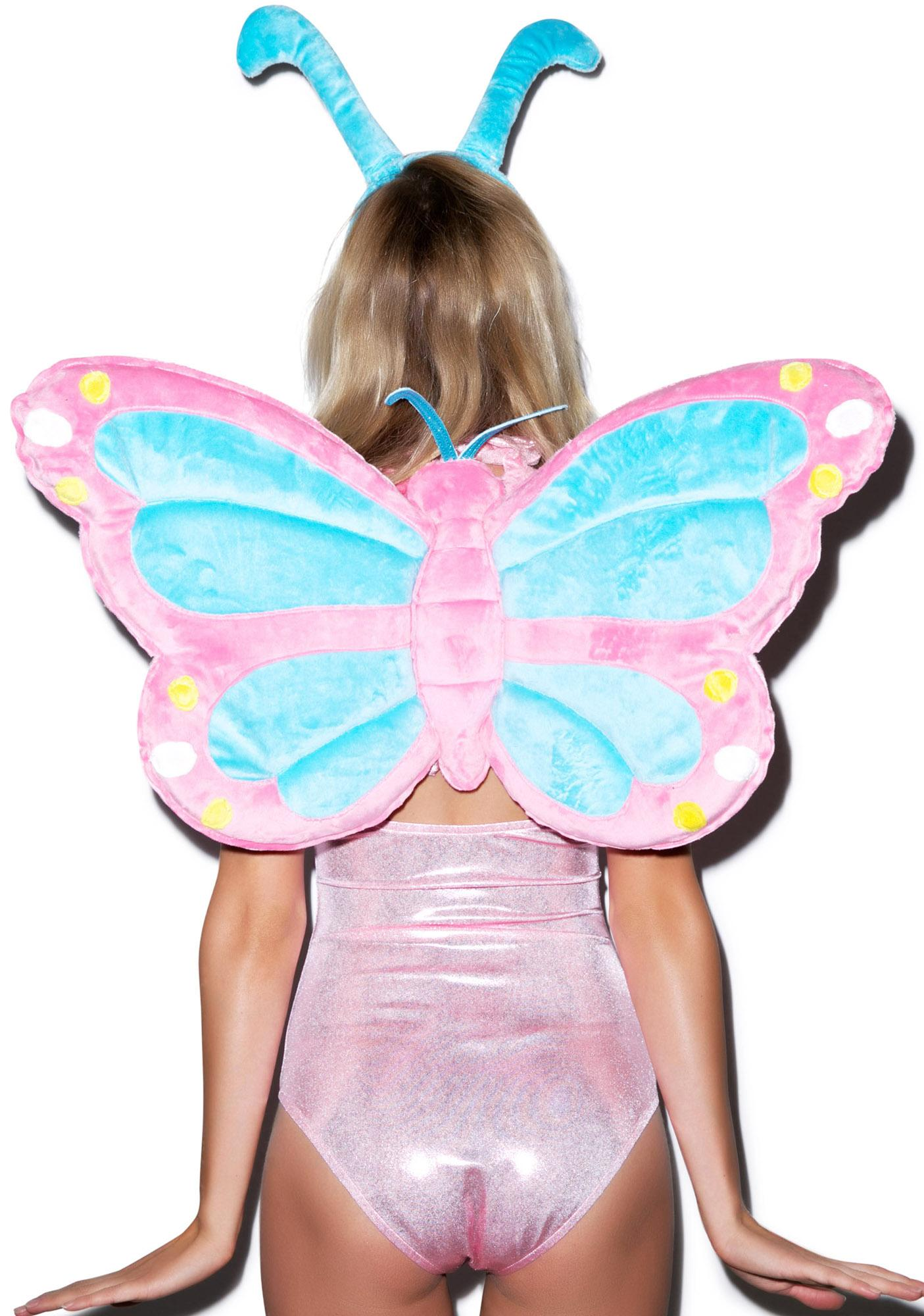 J Valentine Pastel Butterfly Wings