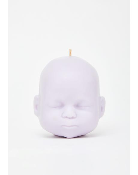 Lilac Baby Doll Soy Candle