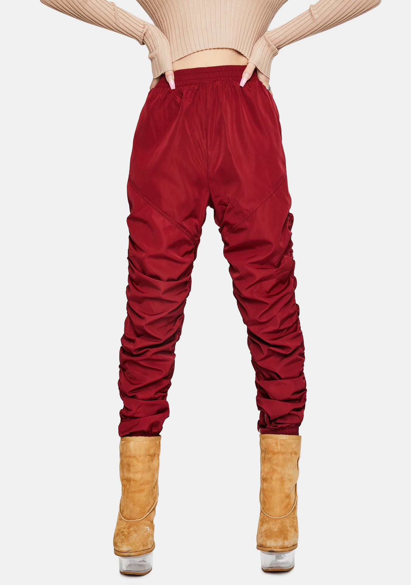 Your Scene Ruched Joggers