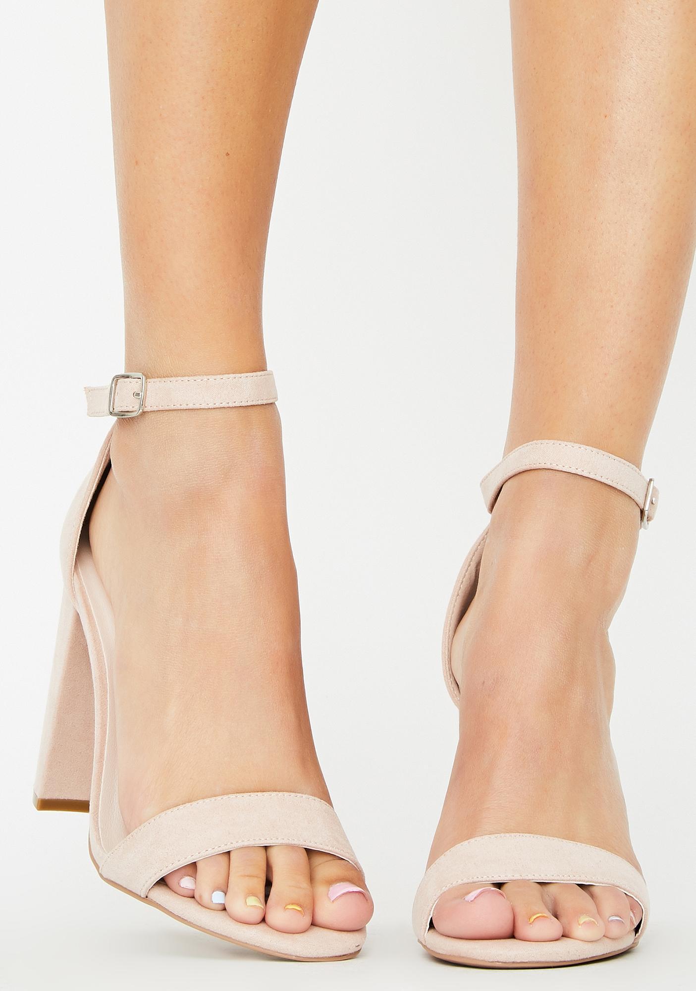 Always Flossin' Block Heels