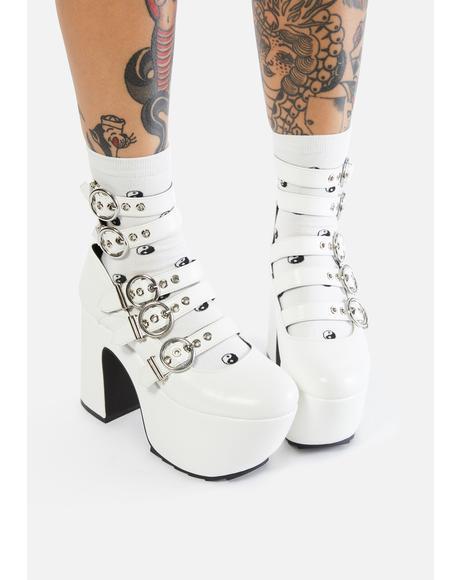 Take Pleasure Platform Heels