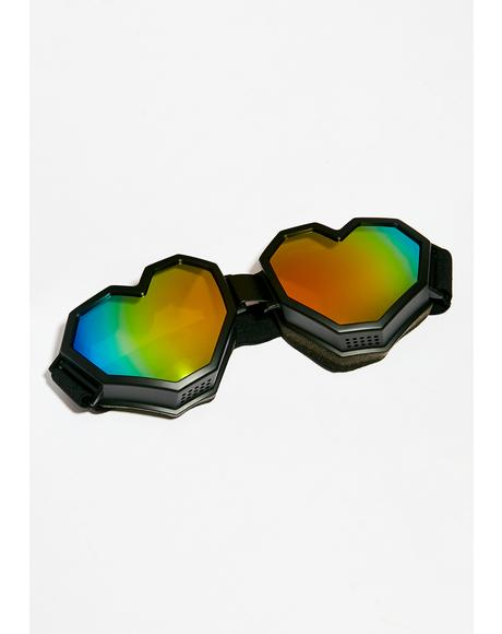 Wicked Heart Goggles
