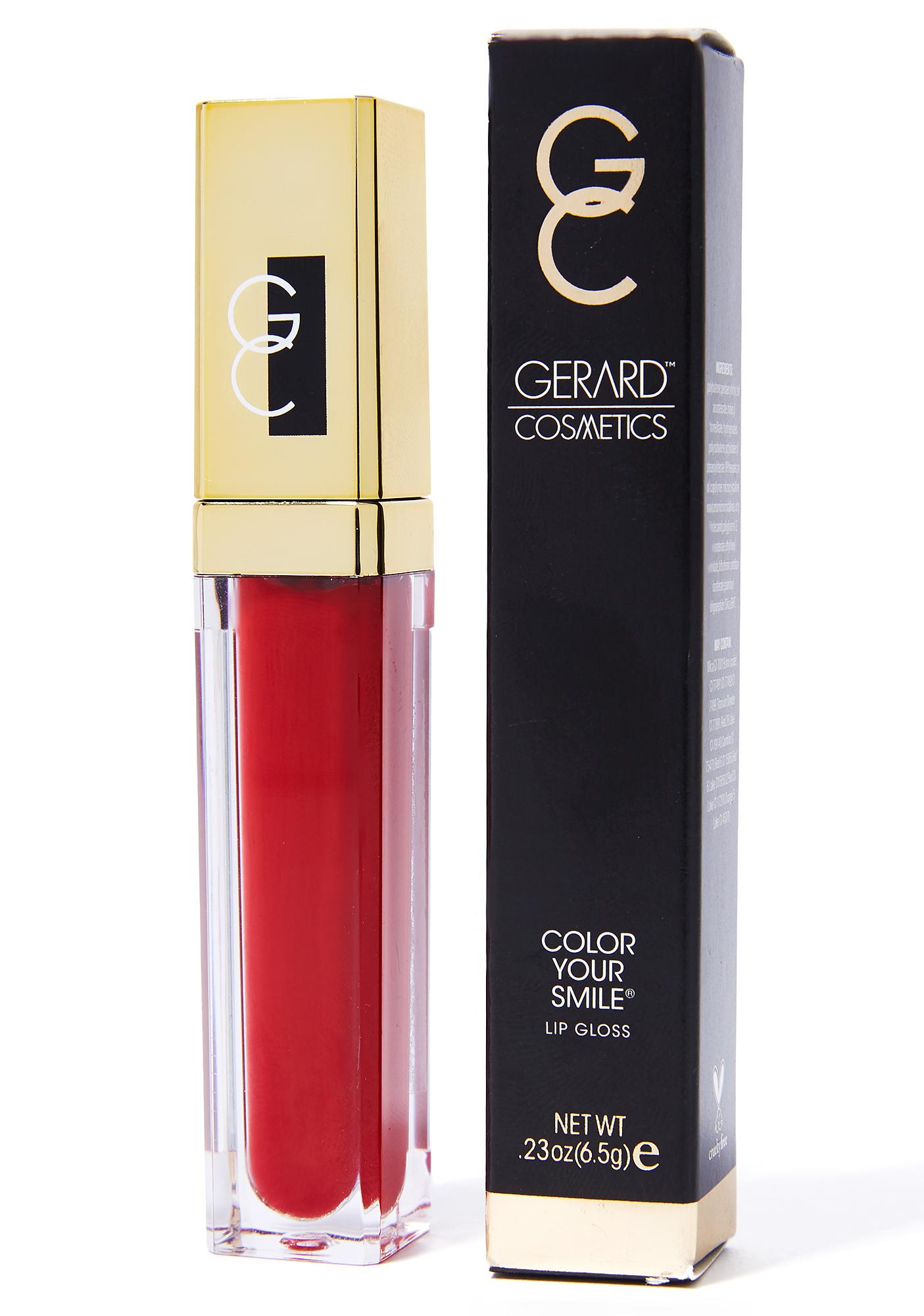 Gerard Cosmetics Candy Apple Color Your Smile Lighted Lip Gloss
